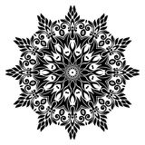 Vintage Mandala Design in White Background Stock Photography