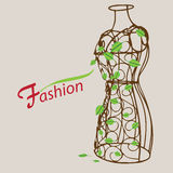 Vintage mannequin Royalty Free Stock Photography