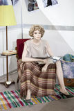 Vintage mannequin Royalty Free Stock Image