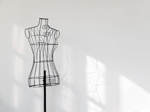 Vintage mannequin stand2 Stock Photography