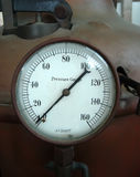 Vintage manometer Royalty Free Stock Photography