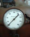 Vintage manometer. Presure gauge indicator Royalty Free Stock Photography