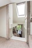 Vintage mansion - attick window Royalty Free Stock Image