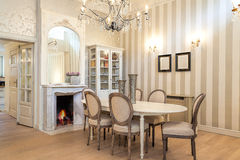 Vintage mansion - dining corner Royalty Free Stock Image