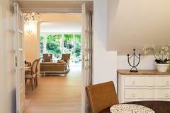 Vintage mansion - elegant corridor. Vintage mansion - an elegant corridor in a luxurious apartment Stock Image