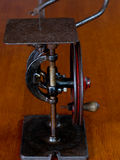 Vintage Manual Driven Scroll Saw Stock Photography