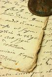 Vintage manuscript Royalty Free Stock Image