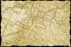 Vintage map Stock Photo