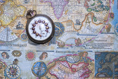 Vintage map Stock Images