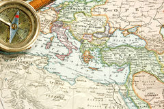 Vintage Map and Chart Royalty Free Stock Images