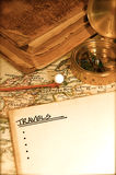 Vintage Map and Chart Stock Photos