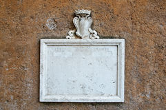 Vintage marble mailbox Stock Photography