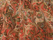 Vintage marbled paper Royalty Free Stock Image