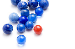 Vintage marbles Stock Photography