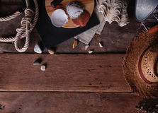 Vintage Marine Wooden Background Imágenes de archivo libres de regalías
