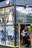 Vintage market in Notting Hill Stock Photography