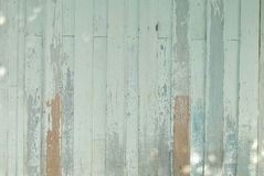 Vintage marrom e verde da prancha de madeira do fundo fotos de stock
