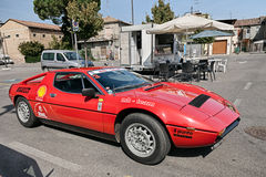 Vintage Maserati Merak SS Royalty Free Stock Photos