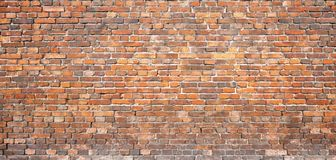 Vintage masonry. red brick wall, background for design Stock Photo