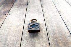 Vintage master key on wood Stock Photos