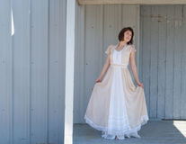 Vintage Maxi Dress Fotos de archivo