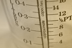 Vintage Measuring Jug Stock Photo