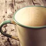 Vintage Measuring Jug Filtered Royalty Free Stock Image