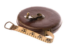 Vintage Measuring Tape Isolated Stock Images