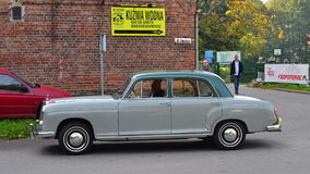 Classic German car Mecedes Benz 190, W121. Royalty Free Stock Photography