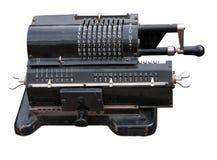 Vintage mechanical adding machine Royalty Free Stock Image