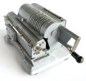 Vintage mechanical arithmometer Royalty Free Stock Photo