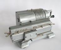 Vintage mechanical arithmometer Royalty Free Stock Image