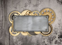 Vintage mechanical background Stock Photography