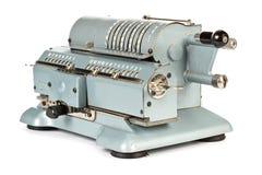 Vintage mechanical calculator Stock Images