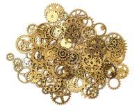 Vintage Mechanical Cogwheel Gears Wheels Stock Image