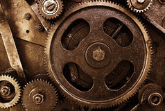 Vintage mechanism Stock Image