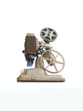 Vintage media player -. Vintage 1950 media player, revere85 8mm film projector. Original home theater unit stock image