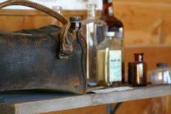 Vintage medical bag royalty free stock image