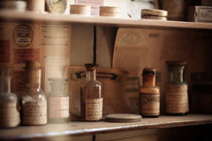 Vintage medications Royalty Free Stock Images