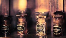 Vintage medications Royalty Free Stock Image