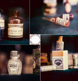 Vintage medications Stock Photos