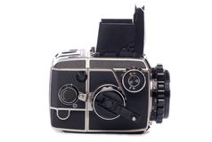 Vintage medium format camera Stock Photography