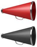 Vintage megaphone Stock Images