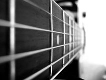 Vintage Melodies. A beautiful picture of guitar strings Royalty Free Stock Photography