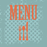 Vintage menu Royalty Free Stock Images