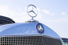 Vintage Mercedes benz front Stock Image