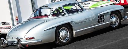 Vintage Mercedes-Benz 300 SL Gullwing photographie stock libre de droits