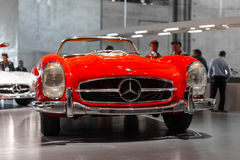 Vintage Mercedes Car Royalty Free Stock Photo