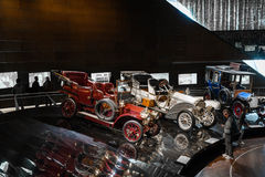 Vintage Mercedes Cars. At the Mercedes-Benz Museum in Stuttgart, Germany Stock Images