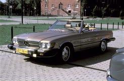 Vintage Mercedes 380 SL cabrio Royalty Free Stock Photos